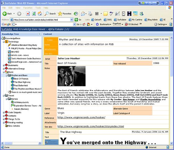 Surfulater Web Viewer